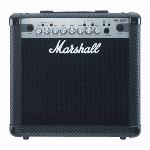 Marshall - MG Carbon Fibre - [MG15CFX] Ampli Combo x Chitarra - 15 Watt