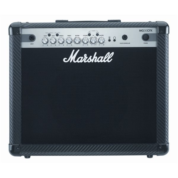 Marshall - MG Carbon Fibre - [MG30CFX] Ampli Combo x Chitarra - 30 Watt