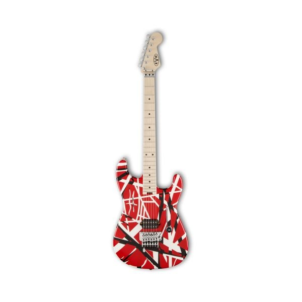 EVH - Striped Series - [5107902503] Chitarra elettrica - Red/Black Stripes