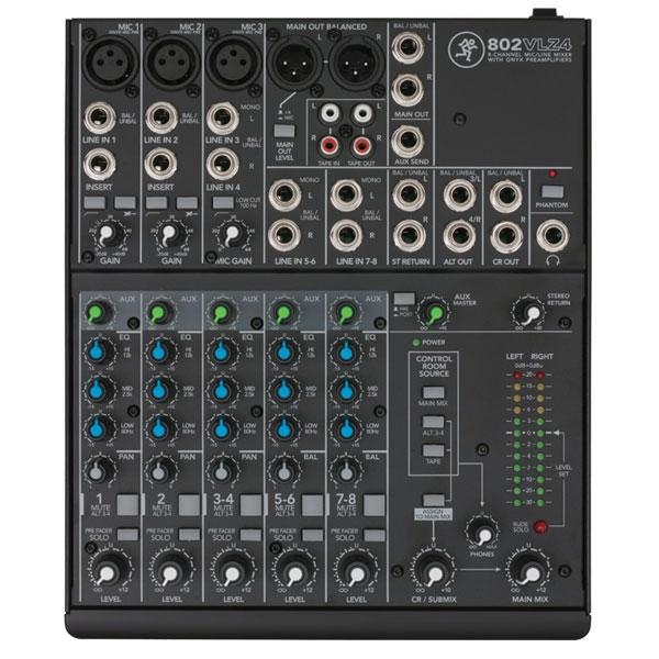 Mackie - [802VLZ4] Mixer 8 canali