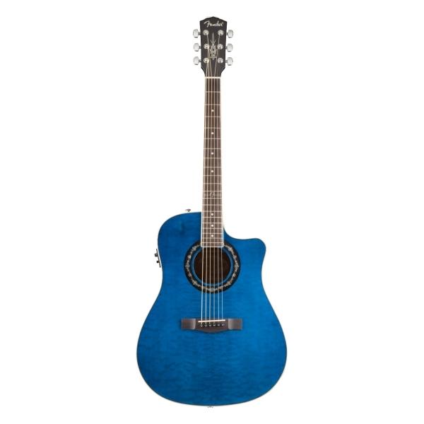 Fender - Dreadnought - [0968079020] Chitarra acustica T-BUCKET 300 CE - RW /  Blu