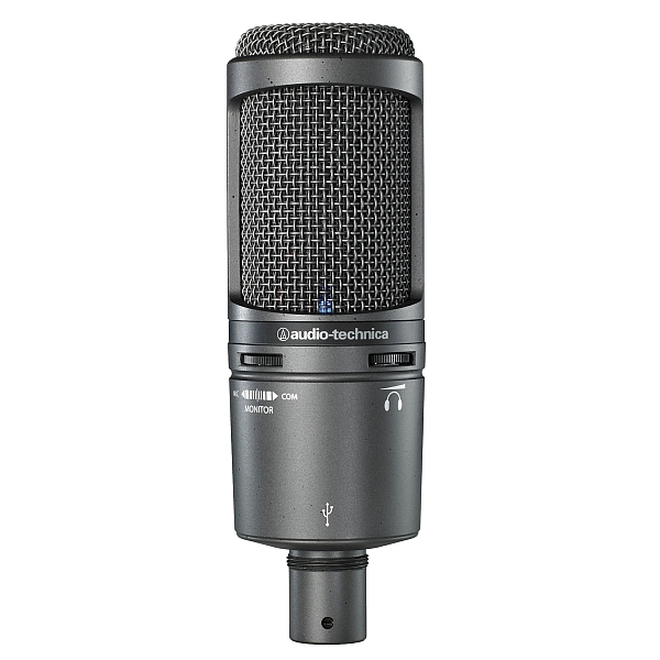 Audio Technica - [AT2020USB+] Microfono condensatore cardioide da studio