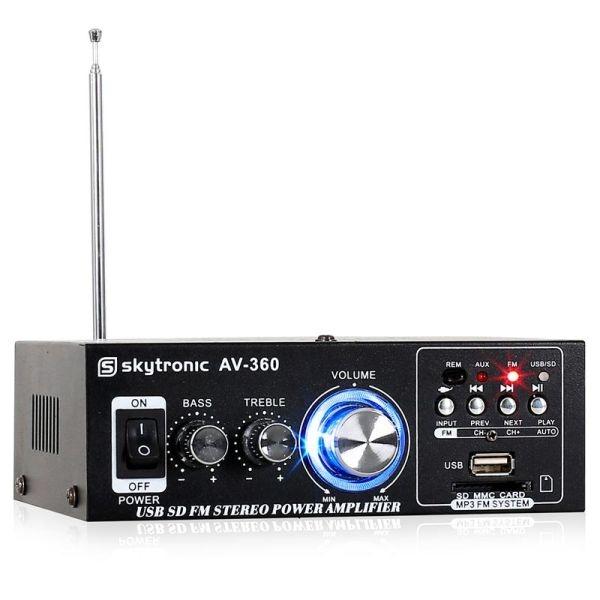 [AV-360] Amplificatore con radio FM/USB