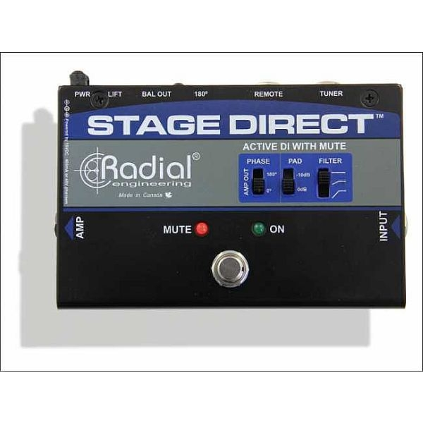 Radial - [STAGE DIRECT] Direct Box attiva
