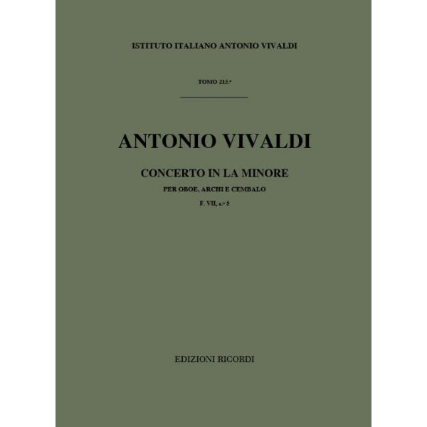 Carish - Vivaldi, Antonio - Concerto in La minore RV 461 (9790041907659)