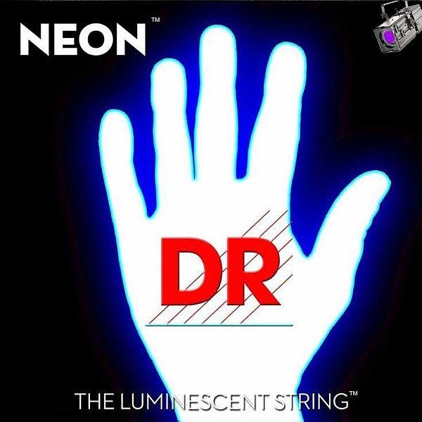 Dr Strings - Neon - [NOB-45A] Corde luminescenti per basso Bianche .045-.105