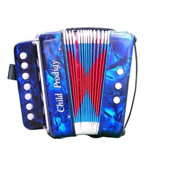 Soundsation - [ST-241B] Mini Fisarmonica x bambini - Blu