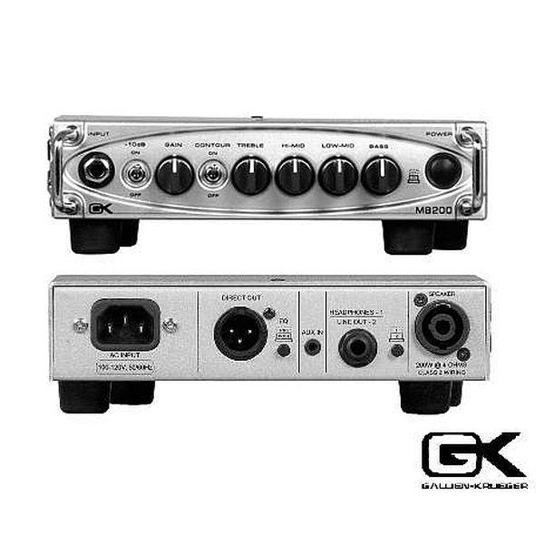 Gallien-Krueger - [MB200] Testata per basso ultraleggera