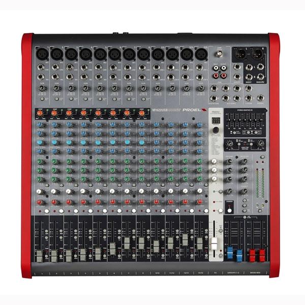 Proel - [M1622USB] Mixer 16 canali con effetti