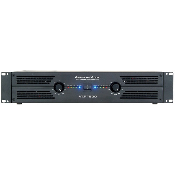 American Audio - [VLP1500] Power amplifier 675+675W