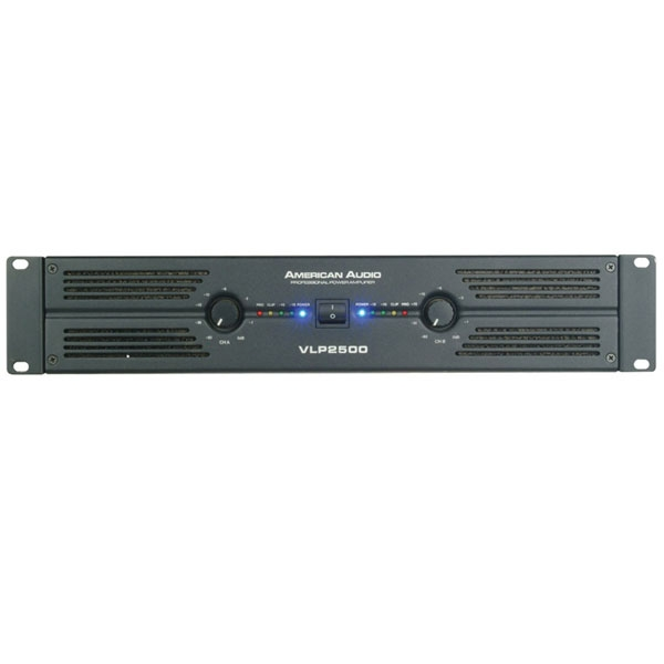 American Audio - [VLP2500] Power amplifier 1100+1100W
