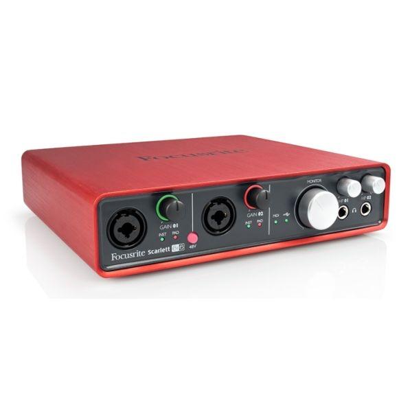 Focusrite - [SCARLETT 6I6] Iterfaccia Audio Usb 6In / 6out