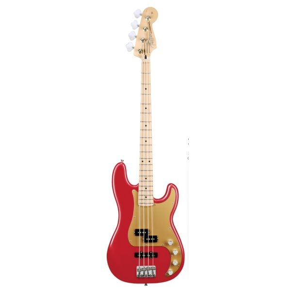 Fender - [0135762325] DeLuxe Active P. Bass - Chrome Red - Mn