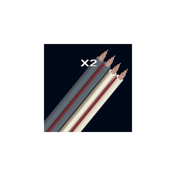Audioquest - [X2 GRAY] Cavo audio a metraggio, Grigio