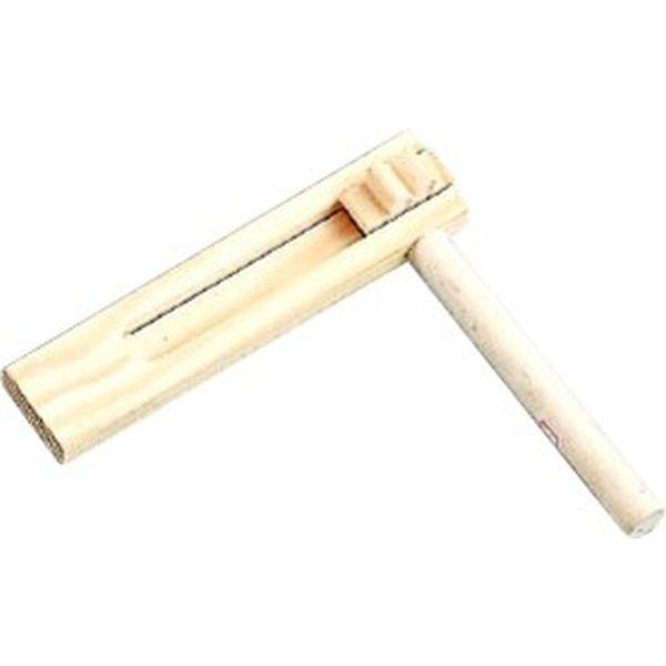 Peace - [RH-49] Raganella singola in legno