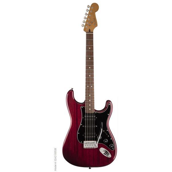 Fender - Modern Player - [0242100538] Stratocaster HSH - Crimson Red Transp- RW