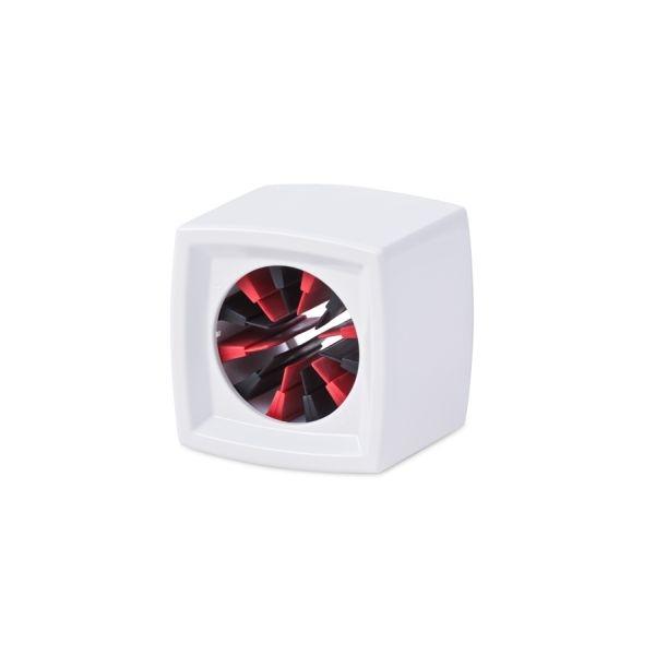 Rycote - [107301] Portalogo universale x microfono quadrato - bianco