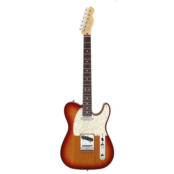 Fender - American Deluxe - [0119400731] Telecaster Aged Cherry Burst - RW