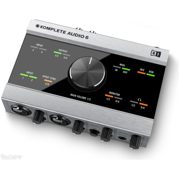 Native Instruments - [KOMPLETE AUDIO 6] Interfaccia audio 6 canali