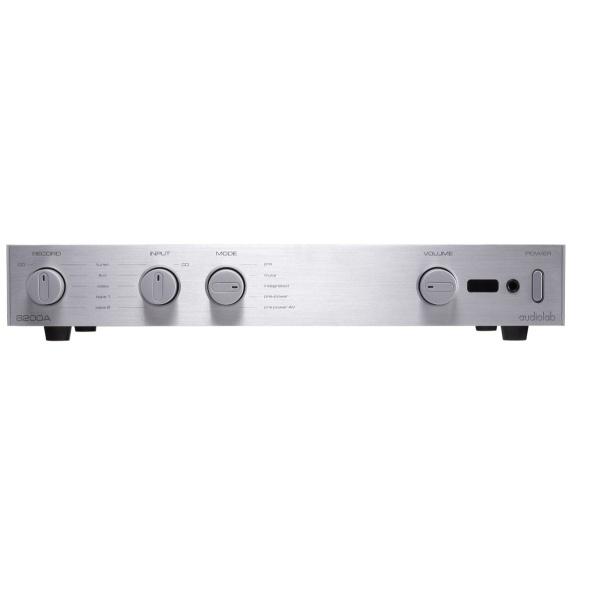 Audiolab - [8200A] Amplificatore integrato 2 ch - 60 Watt - Alluminium Silver