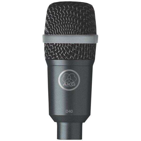 Akg - [D40] Microfono dinamico cardiode x strumenti