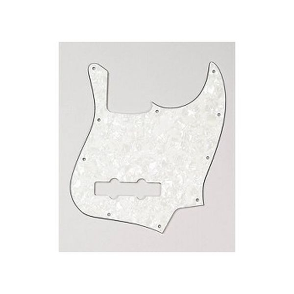 Allparts - [PG 0755-065] Battipenna per Jazz Bass - White Perloid
