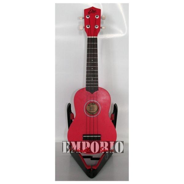 Eko - [06201014] Ukulele Soprano (IBC) - Rosso
