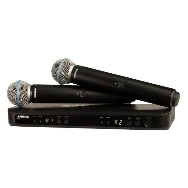 Shure - [BLX288E/B58] Radiomicrofono Ricevitore + 2 Trasmett. B58
