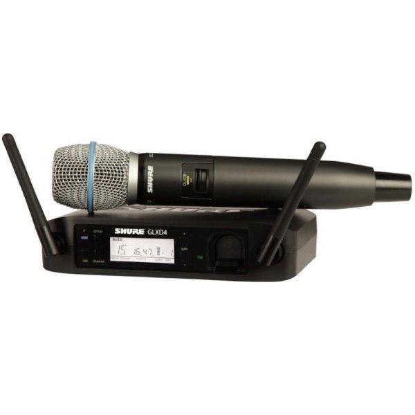 Shure - [GLXD24E/B87A] Radiomicrofono wireless GLX-D