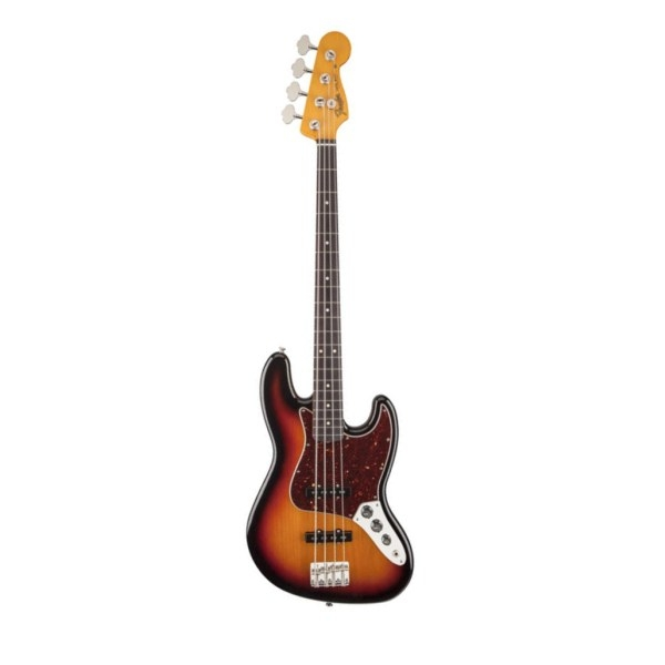 Fender - [0140065700] Classic Series 60'S Jazz Bass Lacquer - Rw