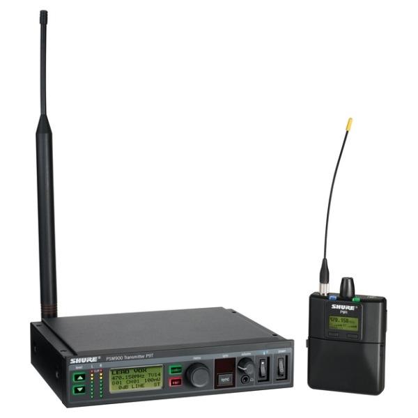 Shure - [KIT PSM900] Personal monitoring - Trasm. P9TE+ Ricev. P9RA-  BANDA K1E