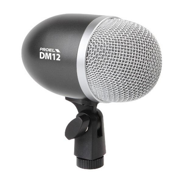 Proel - [DM12] Microfono dinamico x Cassa Batteria