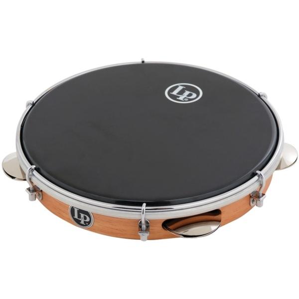 """Lp Latin Percussion - [LP3010] Wood Pandeiro 10"""" con sonagli"""