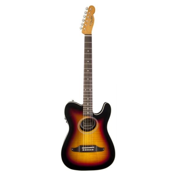 "Fender - [0968716032] Chitarra ""Teleacoustic Premier"" - Sunbust"