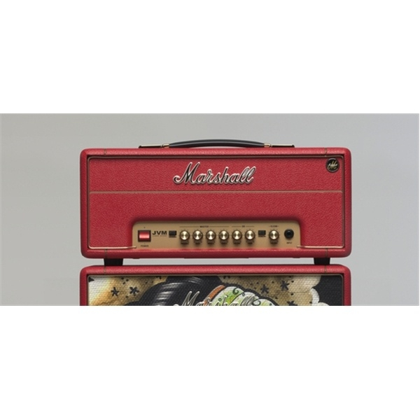 "Marshall - [CSJVM1HT3] Testata JVM1H Red ""VICKY MORGAN"" Style"