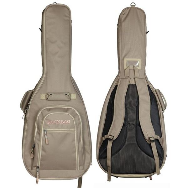 Rockbag - Student Line Cross Walker - [RB20448K] Custodia x chitarra Classica - Khaki