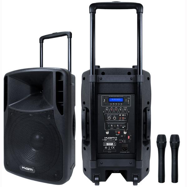 Kam - [RZ PORTABLE PA12] Sistema di amplificazione portatile