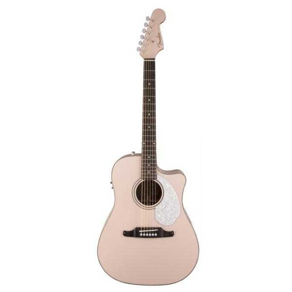 "Fender - [0968640056] Chitarra acustica elettrificata ""SONORAN SCE - Pink"
