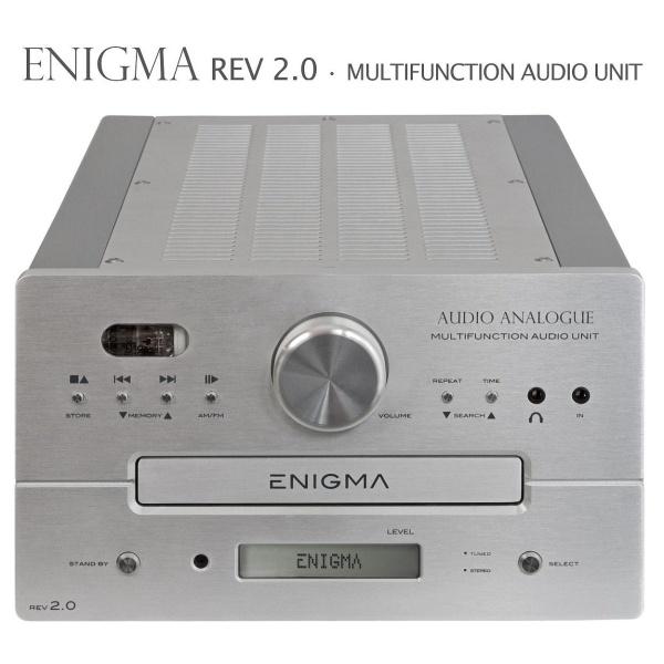 Audio Analogue - Apparecchio Multifunzionale ENIGMA REV 2.0 - Silver