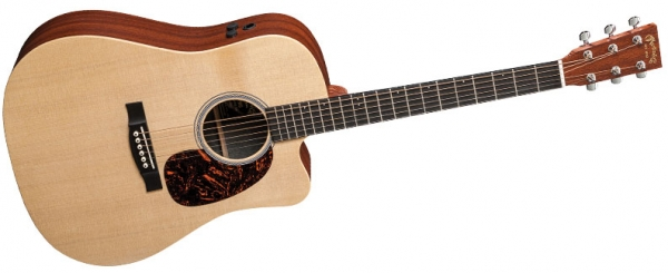 Martin - [DCPA5] Black Martin Dreadnought Cut Model