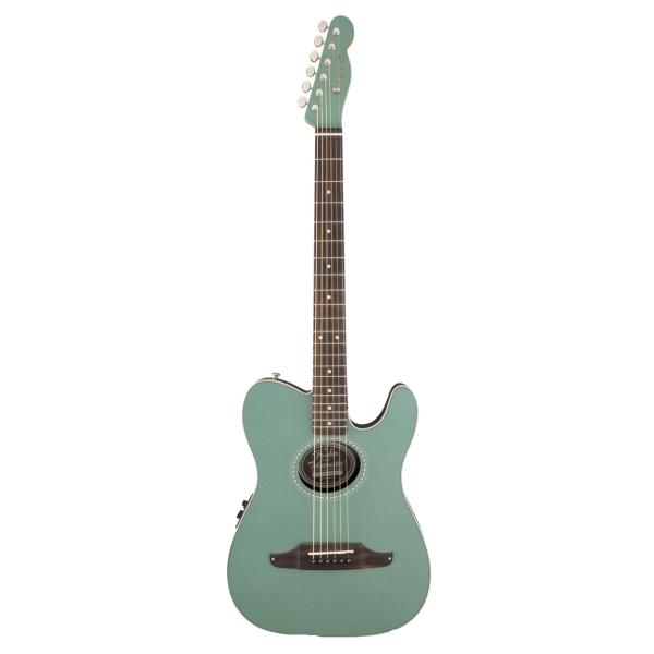 Fender - [0968715046] Chitarra elettrica TELECOUSTIC Plus -  Sherwood Green