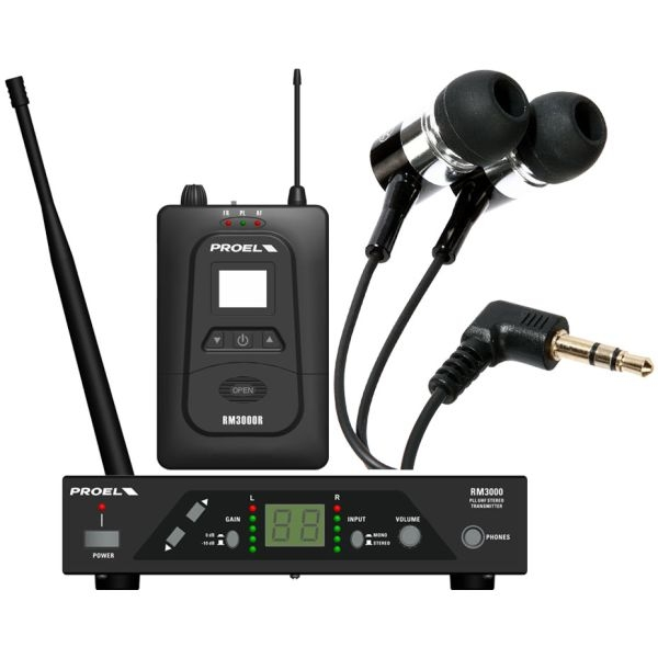 Proel - [RM3000TR] Ear monitor