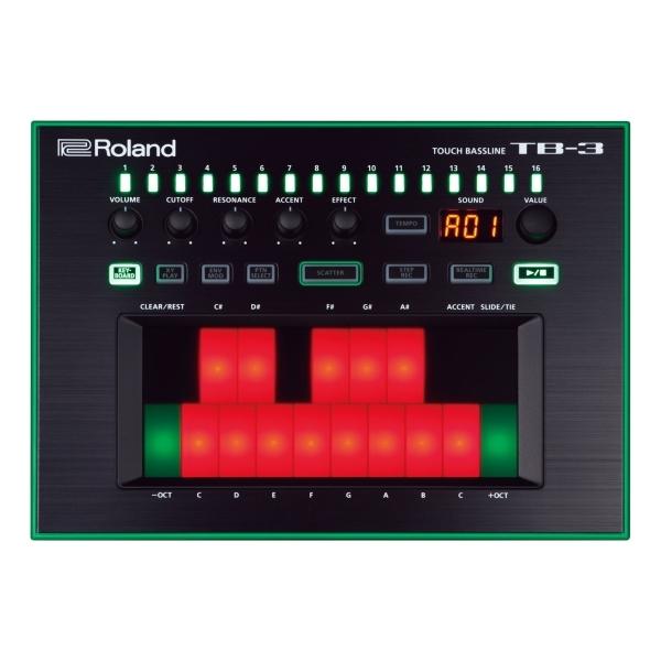 Roland - Aira - [TB3] Touch Bassline