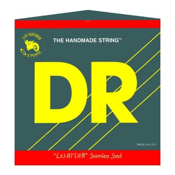Dr Strings - [LH-40] Muta corde per basso Lo-Rider Steel  40-100 Lite