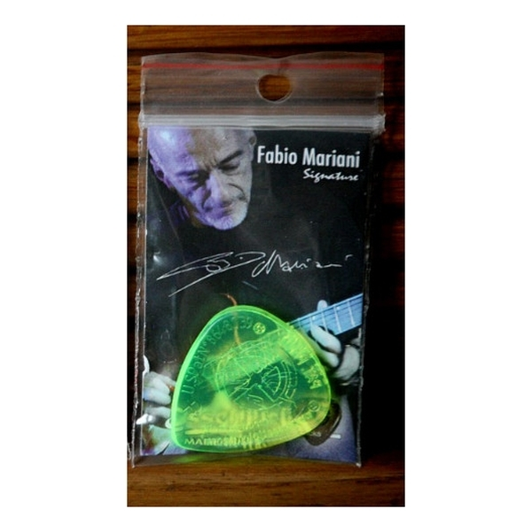 EsseTiPicks - FABIO MARIANI Signature - Plettro - colore verde