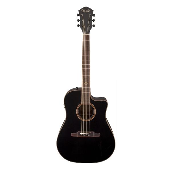 Fender - [0968693006] Chitarra acustica F1020SCE Cutaway / RW- Black