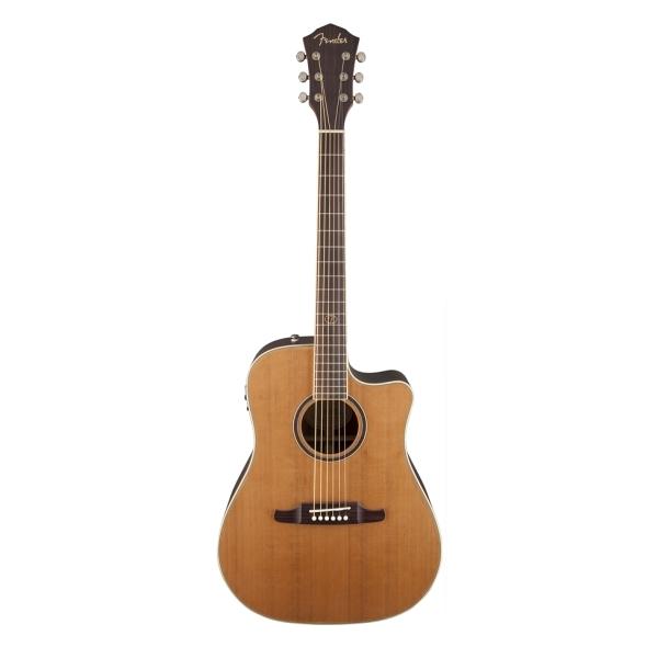 Fender - [0968695021] Chitarra acustica F1030SCE Dreadnought / RW- Natural