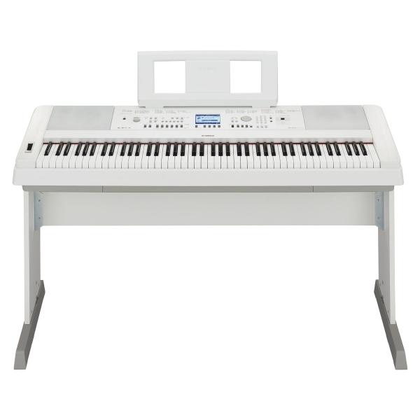 "Yamaha - [DGX650WH] ""Portable Grand""- Piano digitale - Bianco"