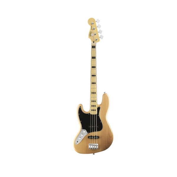 Fender - Squier Vintage Modified - [0306722521] Jazz Bass 70'S mancino / Mn - Natural
