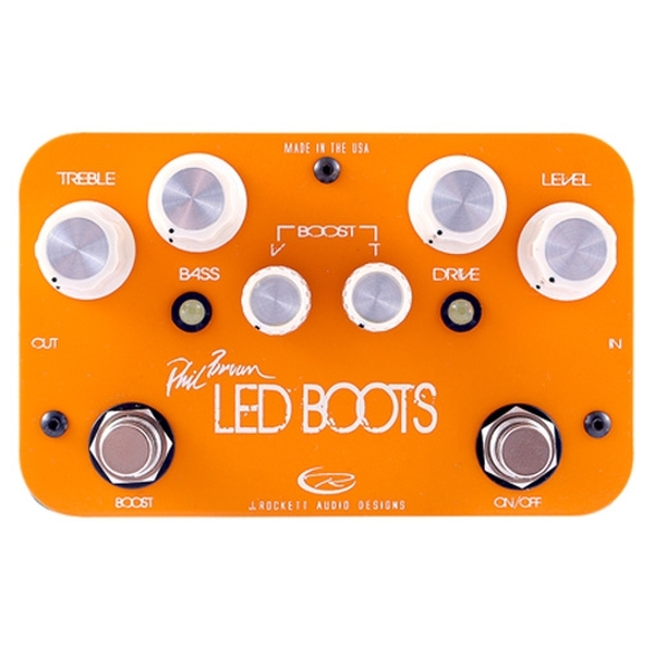 J. Rockett - Signature - LED BOOTS Phil Brown - Booster/Overdrive